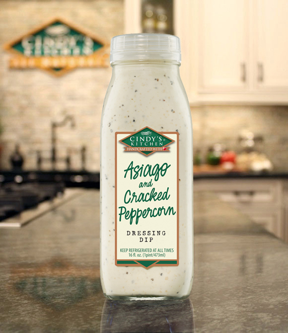 Asiago and Cracked Peppercorn Logo