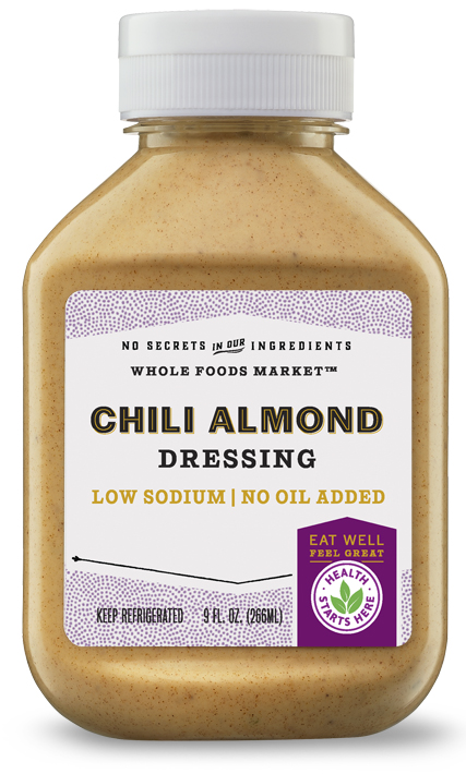 Chili Almond Dressing Logo