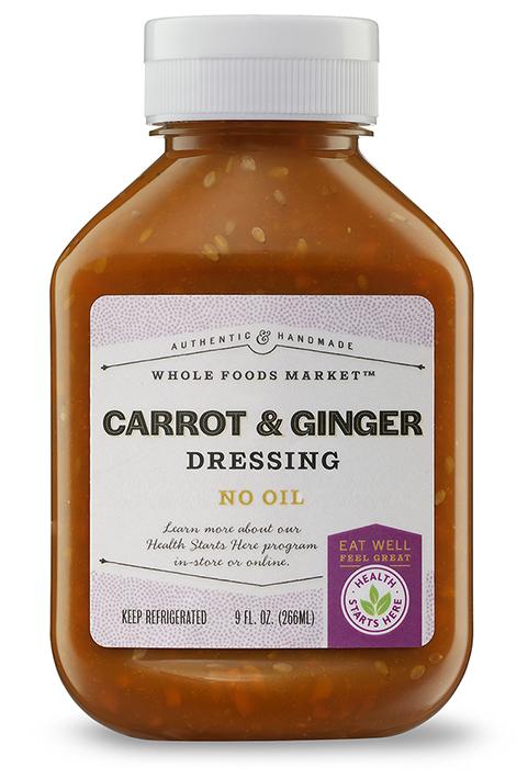 Cindy's Kitchen Product: Carrot Ginger Dressing