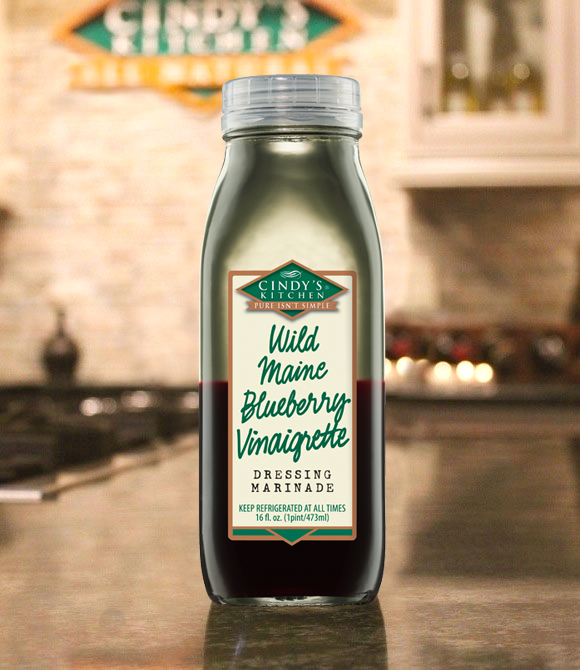 Wild Maine Blueberry Vinaigrette  Logo