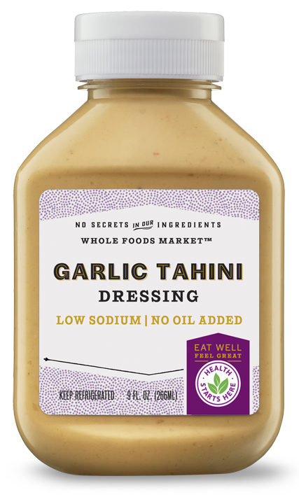 Cindy's Kitchen Product:Garlic Tahini Dressing